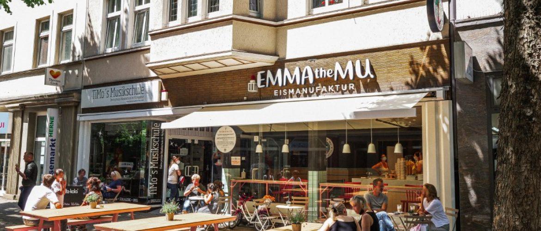 Emma the Mu Eisdiele, <br>Behrensstraße 10, <br>44623 Herne